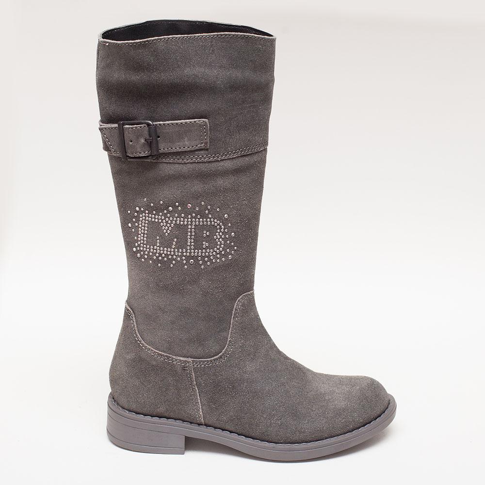 3575211a9df Γκρι κοριτσίστικες μπότες με διακριτικά στρασάκια – Πα-τη-το